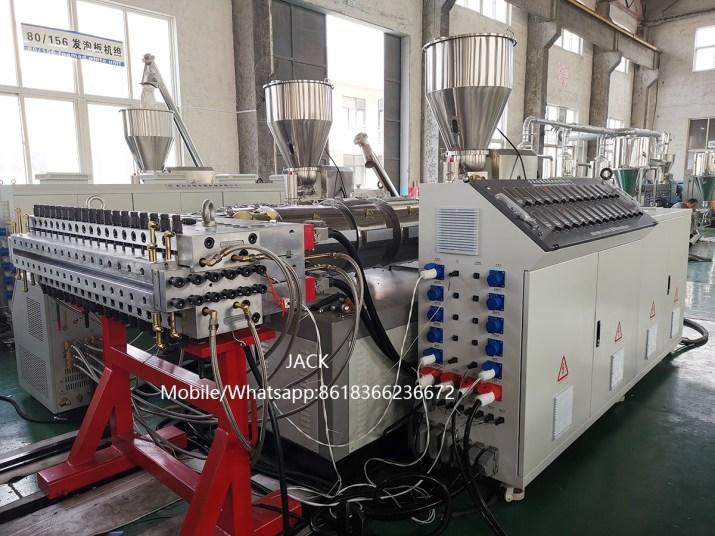 Machine de fabrication de Panneau en PVC WPC expansé