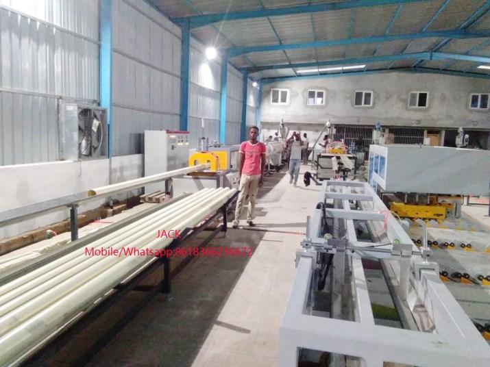 Machine d'extrudeuse Tube PVC