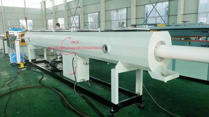Ligne de extrusion de tuyau en PVC