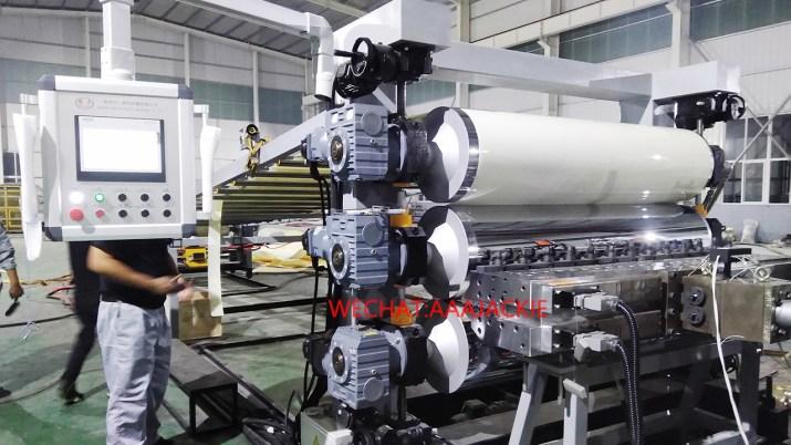 Máy sản xuất tấm nhựa ABS PS PMMA