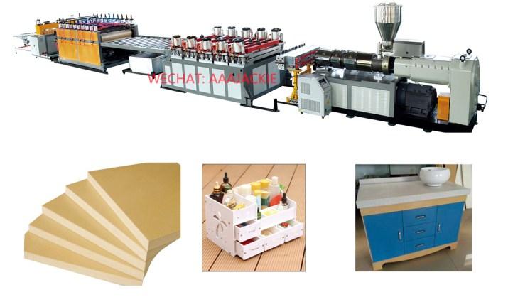 Máy sản xuất Tấm nhựa  PVC WPC Foam