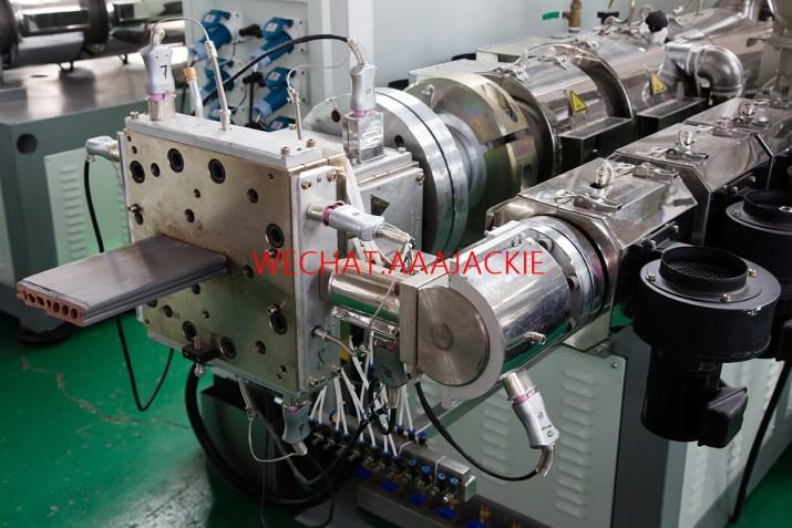 Máy sản xuất sàn gỗ nhựa composite