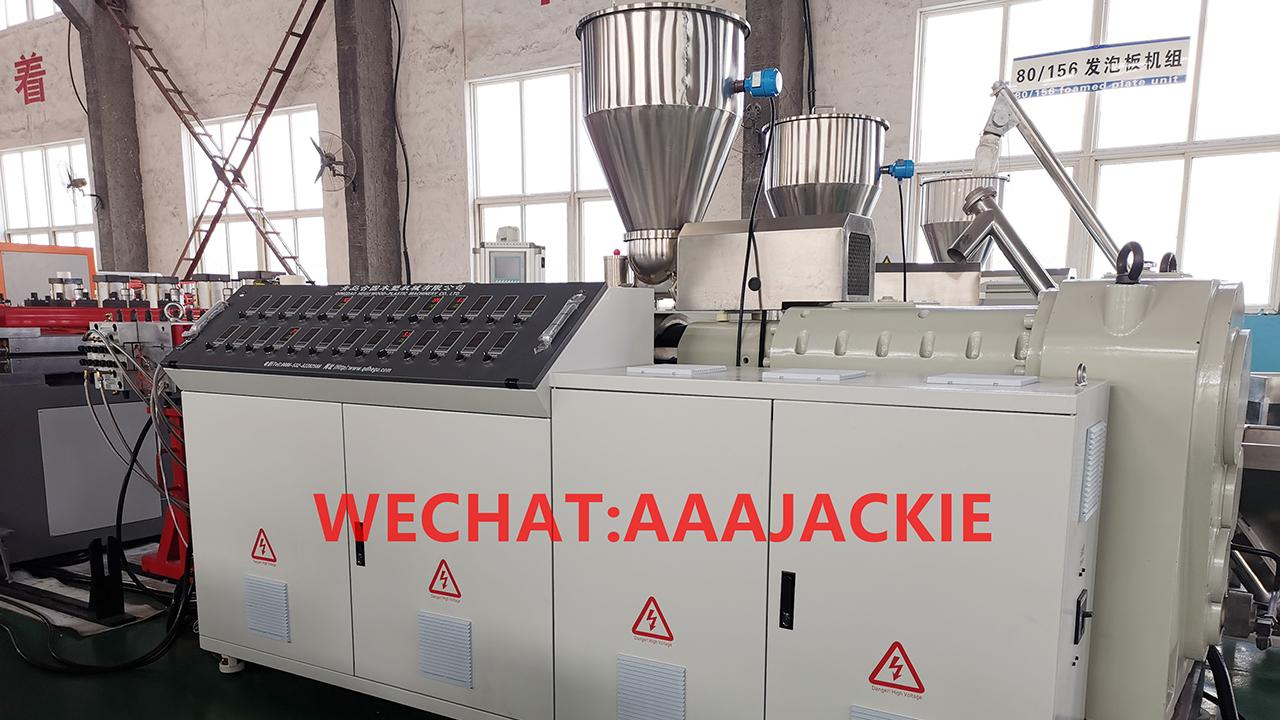 Máy sản xuất Tấm nhựa   WPC Foam