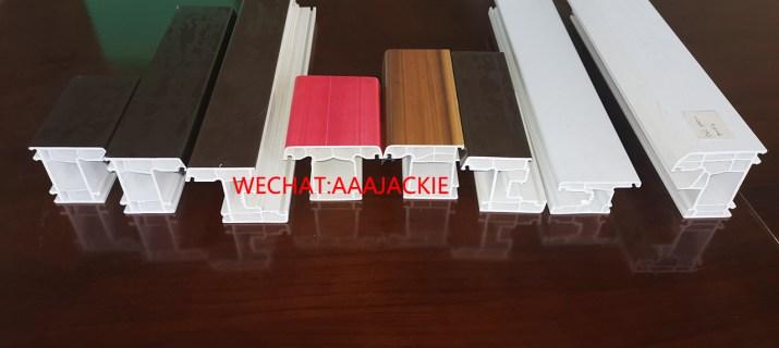 Profilé de porte fenêtre PVC UPVC