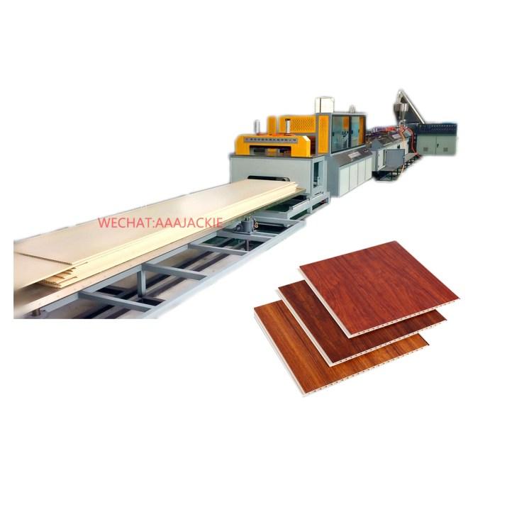 Machine d'extrudeuse de panneau de plafond de mur de PVC