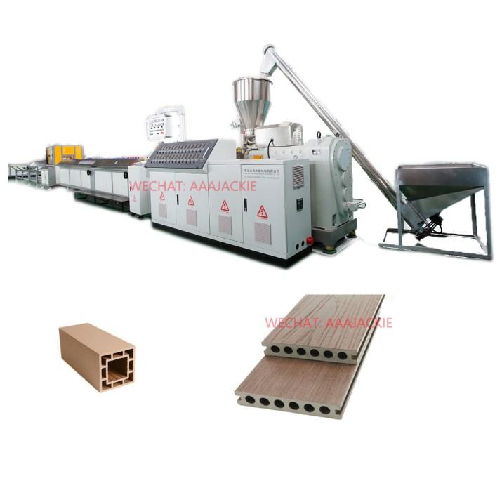 Ligne de production de profilés composites en plastique bois