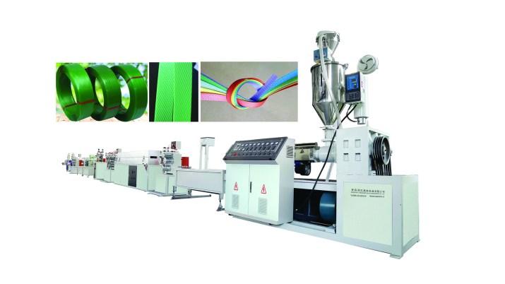 PET PP Plastik Ambalaj Çember Ekstrüzyon Makinesi