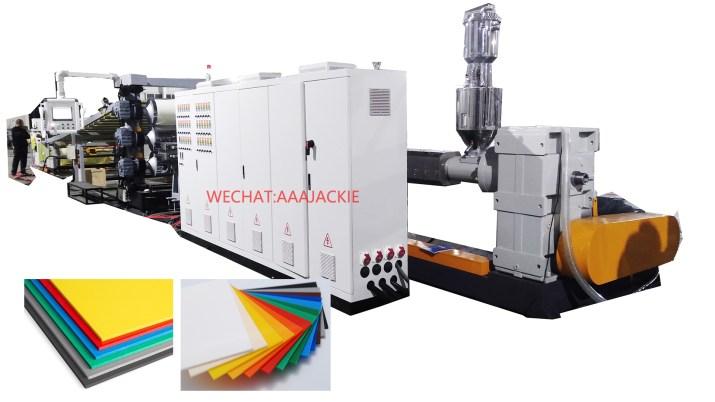 Plastik Levha Ekstrüzyon Makinesi