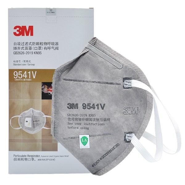 3M 9541V Valved Respirator