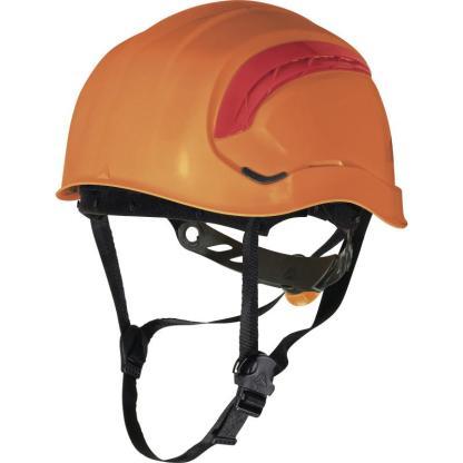 Granite Wind Orange safety Helmet with 8 fixing points