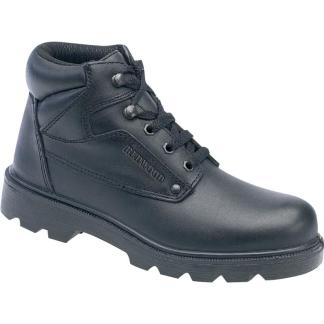 LH626 S1 Delta Plus Smooth Leather Ankle Boot steel toe cap workwear