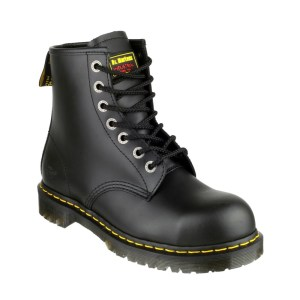 Iconic Dr. Martens 7-eye safety boot