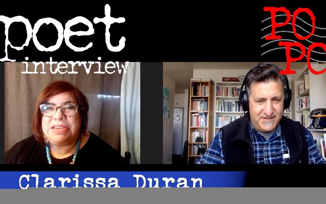 Clarissa Duran Poetry Postcard Fest interview