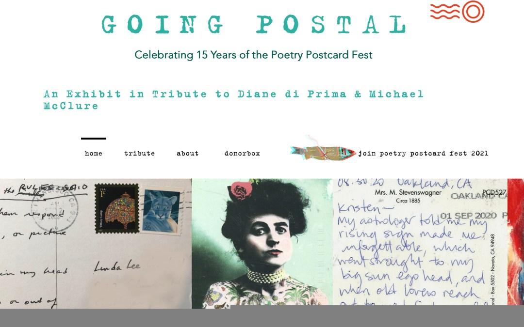 Online Poetry Postcard Fest Exhibit Launch