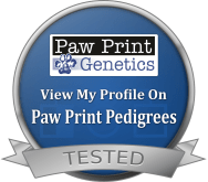 Paw Print Pedigrees Dog Seal