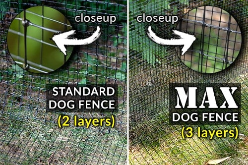 strong dog fence