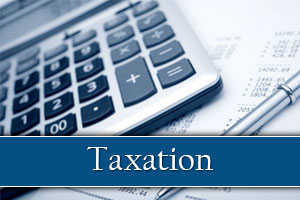 Taxation image - calculator
