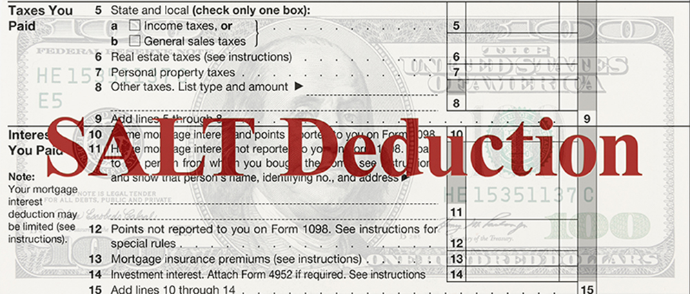 State and Local Tax Deductions