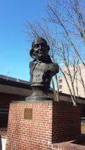 Benjamin Franklin bust in Philadelphia