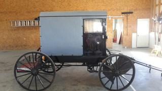Amish Buggy Cart