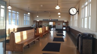 Lancaster Railway Station Waiting Lounge