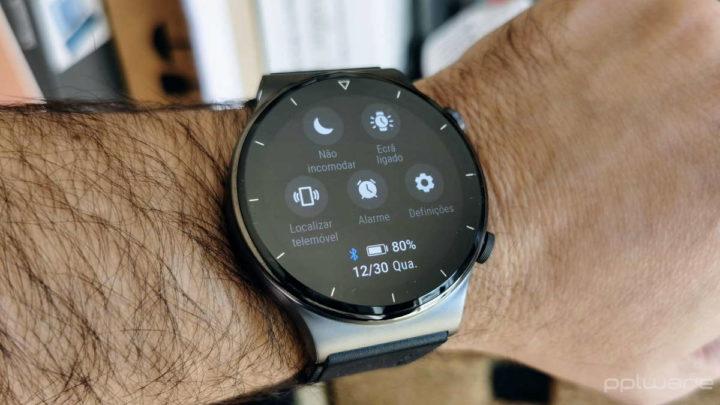 Huawei Watch GT2 Pro smartwatch relógio sensores