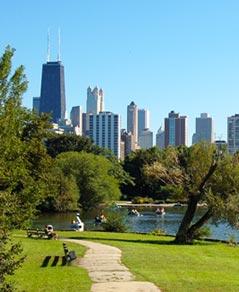 Pristine Lakefront Parks