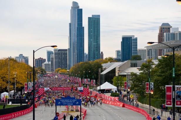 Chicago Apartments, Chicago Marathon Viewing