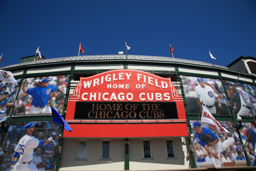 Chicago Apartments, April Events, Wrigley Field