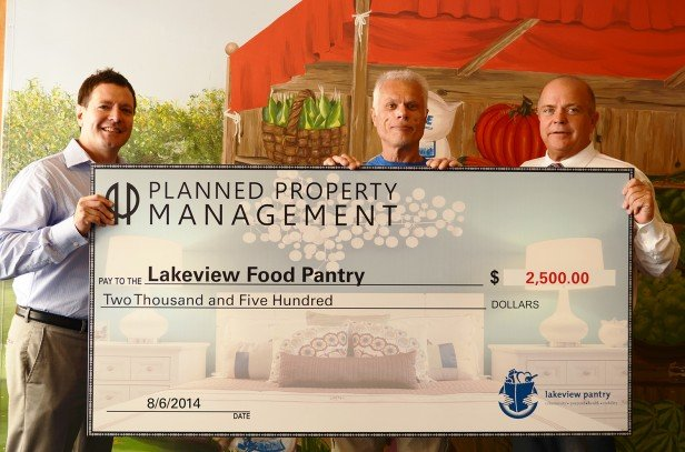 Chicago Apartments, Lakeview Food Pantry, Give Back