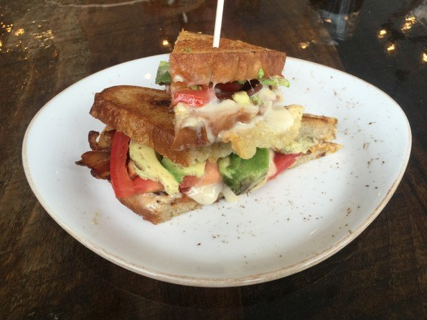 Chicago Apartments, Mortar & Pestle, Decadent Grilled Cheese