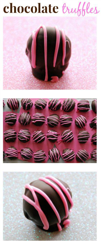 Chicago Apartments, Valentine's Day Treats, Chocolate Truffles