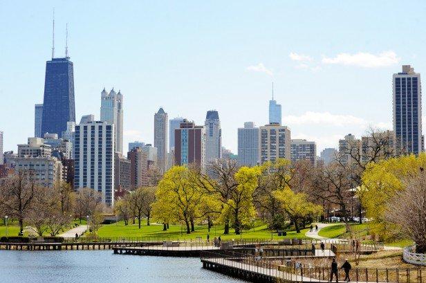 Chicago Apartments, Trails, Lincoln Park Nature Boardwalk