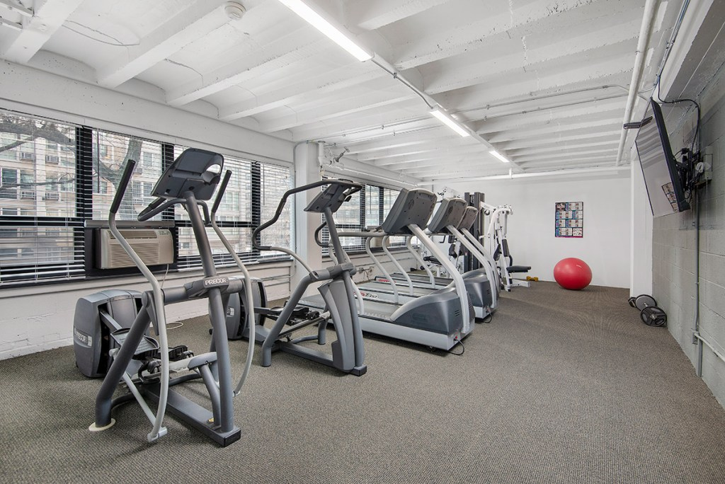 Chicago Apartments, Lakeview, 350 W Oakdale Fitness Center