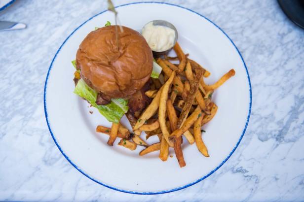 Chicago Apartments, Blue Door Kitchen & Garden, BDK Burger