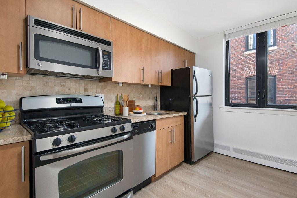 20 E Scott Kitchen Interior Chicago Apartments Gold Coast - 3