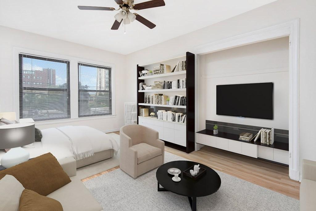 Chicago Apartments, Lakeview, 515 W Briar Studio