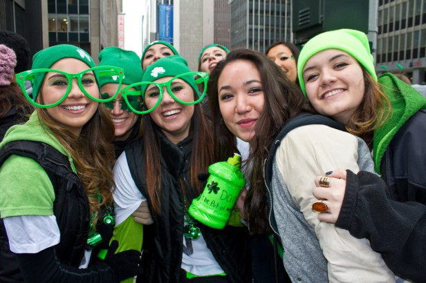 Chicago Apartments, St. Patrick's Day, North West Side Irish Parade
