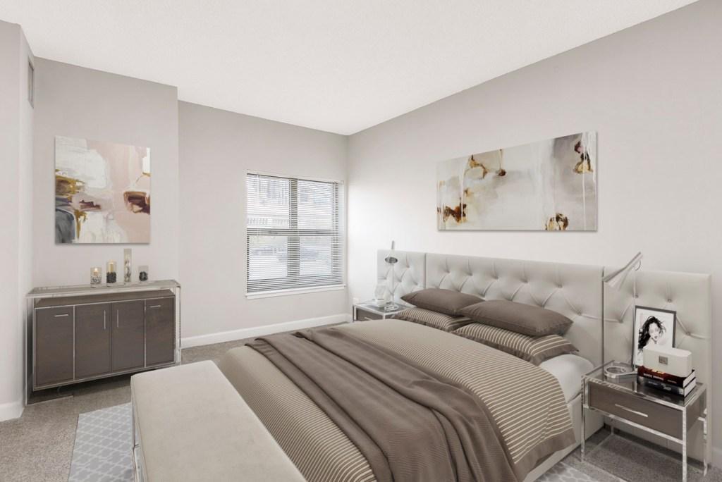 100 W Chestnut Chicago Apartment Interior Bedroom 1