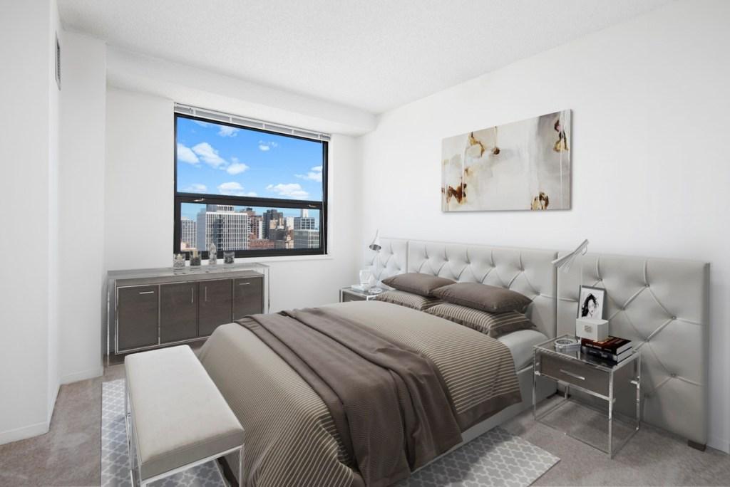 1133 N Dearborn Chicago Apartment Interior Bedroom Gold Coast