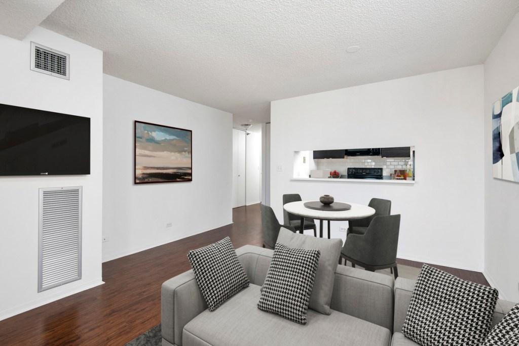 1133 N Dearborn Chicago Apartment Interior