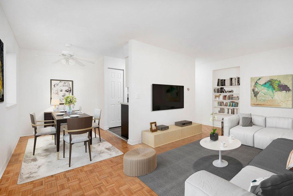 Studio, One Bedroom Apartments
