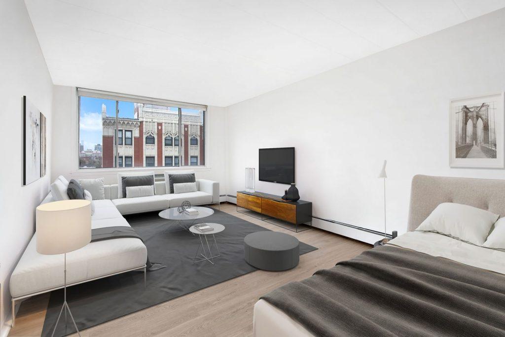 Chicago Apartments, Lakeview, 500 W Belmont Studio