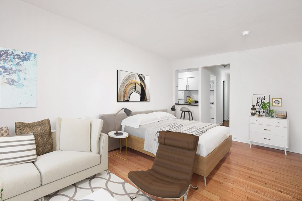 Chicago Apartments, Lakeview, 537 W Melrose Studio