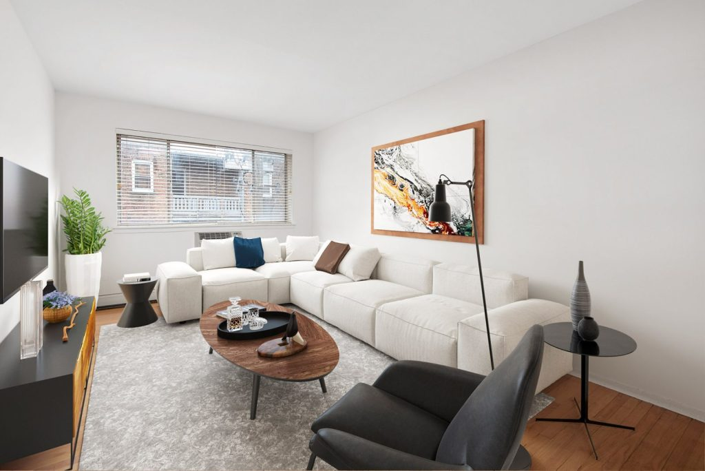 Chicago Apartments, Lakeview, 537 W Melrose Living Room