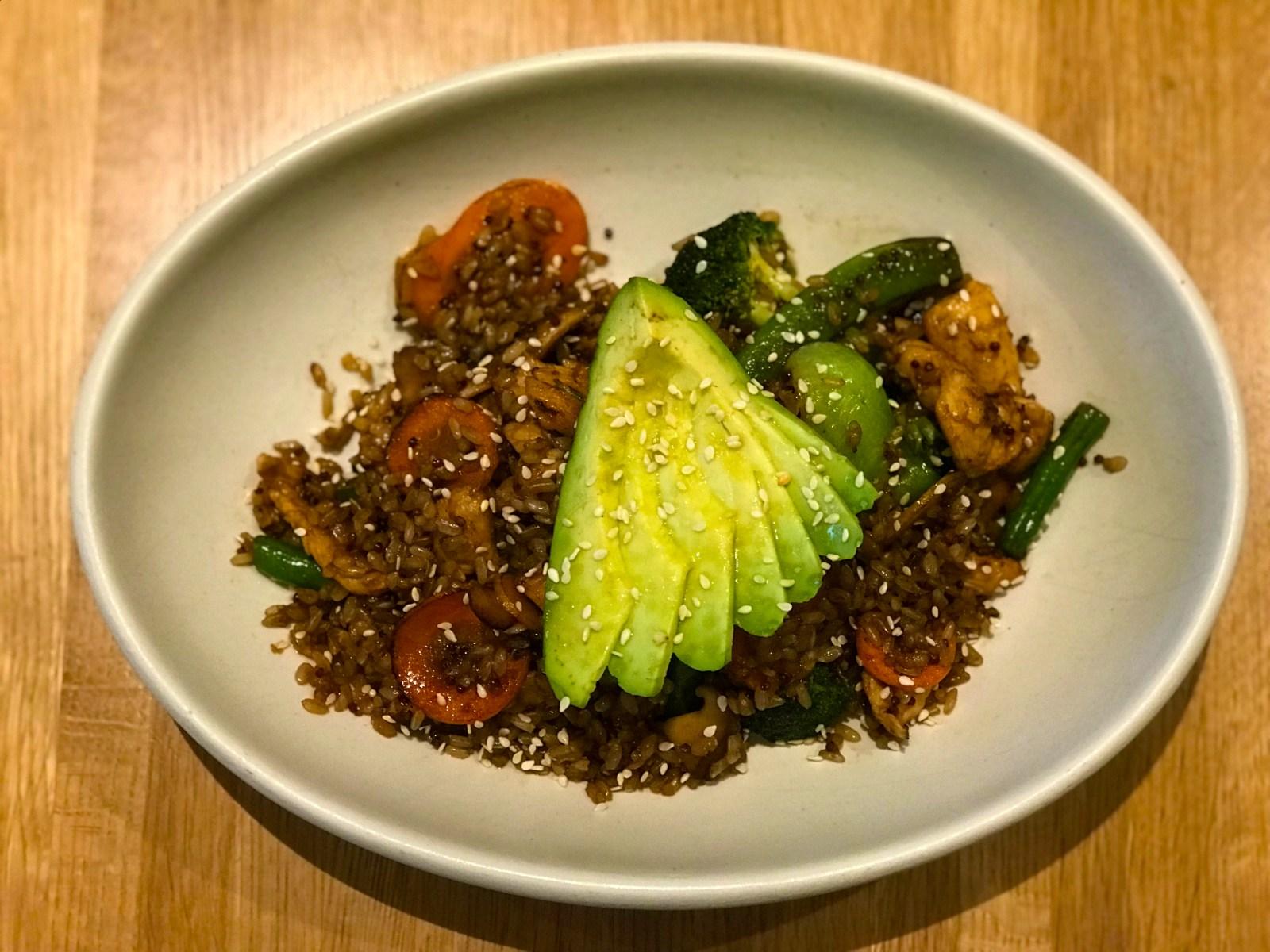 Chicago Apartments, True Food Kitchen, Teriyaki Quinoa Bowl
