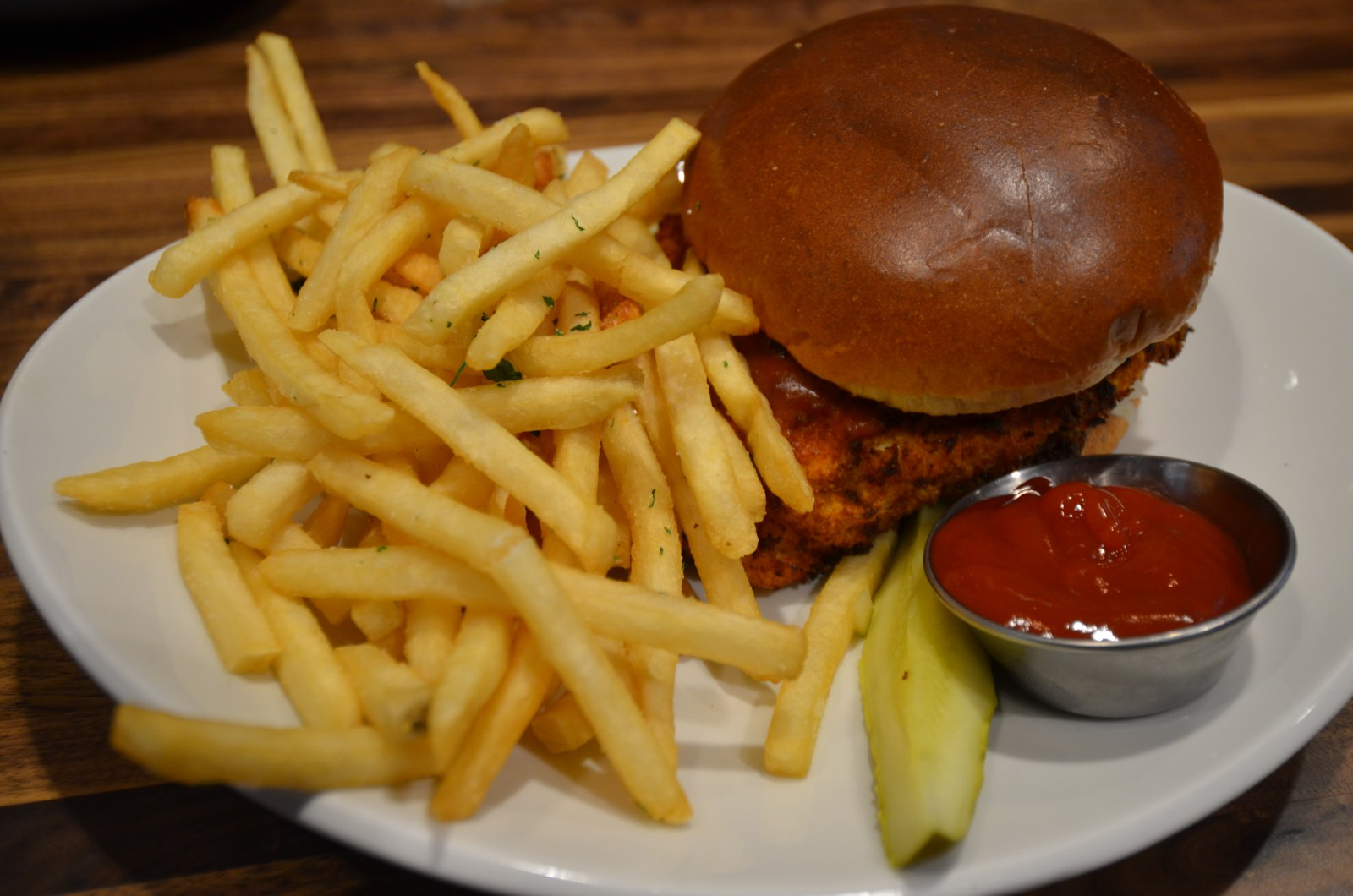 Chicago Apartments, Late Bloomer, Buffalo Chicken Sandwich
