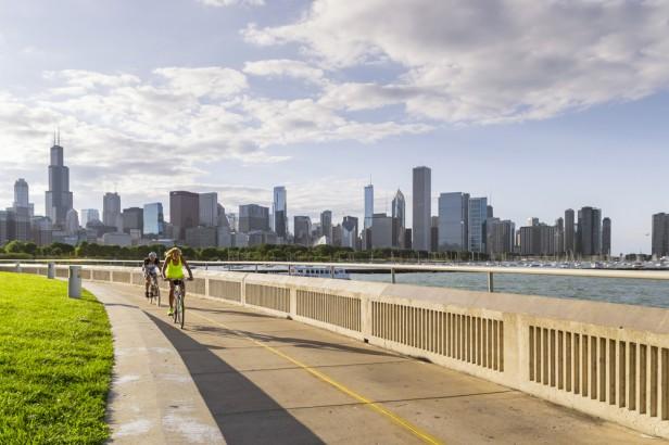 Chicago Apartments, Bike Trails, Chicago Lakefront Trail