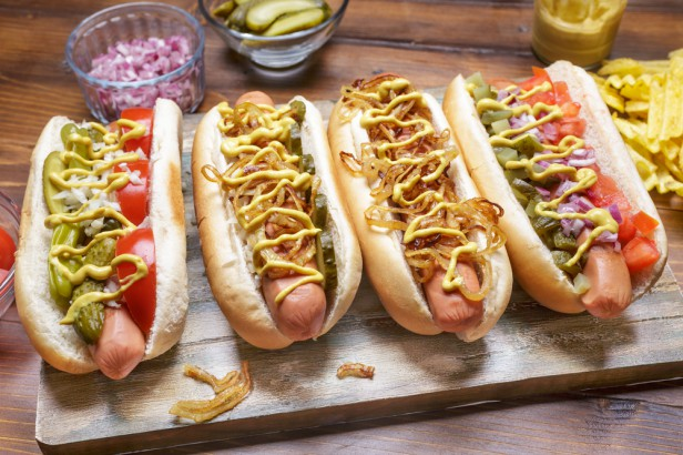 Chicago Apartments, Hot Dogs, Jimmy's Red Hots