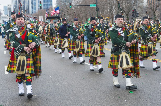Chicago Apartments, St. Patrick's Day, Parade